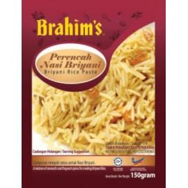 image of Brahim's Perencah Nasi Briyani 180g Brahim Brahims NCS Halal Travel Food