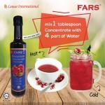 FARS Pomegranate Concentrate / Pati Delima 375ml