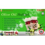 FARS OLIVE OIL SOFTGEL 500MG 60 CAPS / Minyak Zaitun