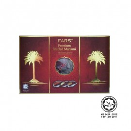 image of FARS PREMIUM STUFFED MARIAMI 200G / Kurma Mariami + Badam + Aprikot + Gajus