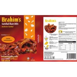 image of Brahim's Sambal Ikan Bilis 180g Brahim Brahims MRTE