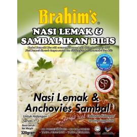 image of Brahim's Nasi Lemak & Sambal Ikan Bilis 250g Brahim Brahims