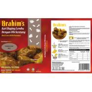 image of Brahim's Kari Daging Lembu Dengan Ubi Kentang 180g Brahim Brahims MRTE