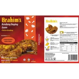 image of Brahim's Rendang Daging Ayam 180g Brahim Brahims MRTE