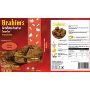 image of Brahim's Rendang Daging Lembu 180g Brahim Brahims MRTE