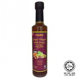 image of FARS Grape Vinegar With Honey / Cuka Anggur dengan Madu 375ml