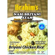 image of Brahim's Nasi Briyani Kambing 250g Brahim Brahims Mutton Rice Travel Food