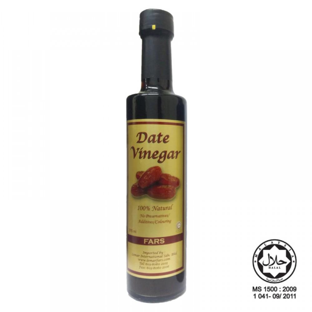FARS Date Vinegar / Cuka Kurma Dates Tamar 375ml