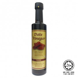 image of FARS Date Vinegar / Cuka Kurma Dates Tamar 375ml