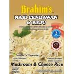 Brahim's Nasi Cendawan & Keju 250g Brahim Brahims