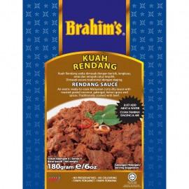 image of Brahim's Kuah Rendang 180g BCS Brahim Brahims Instant Sauce Rempah Segera