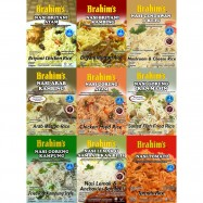 image of BRAHIM'S Combo 9pcs All In One Meals Ready To Eat Rice Halal Travel Food