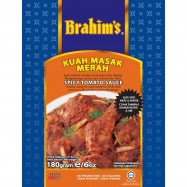 image of Brahim's Kuah Masak Merah 180g BCS Brahim Brahims Instant Paste Rempah Segera
