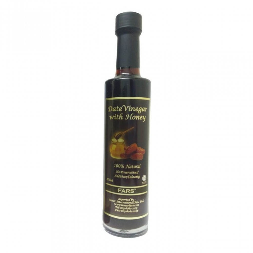 FARS Date Vinegar With Honey Dates / Cuka Kurma Dengan Madu 375ml