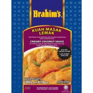 image of Brahim's Kuah Masak Lemak 180g BCS Brahim Brahims Instant Paste Rempah Segera
