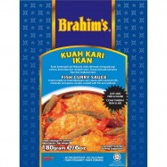 image of Brahim's Kuah Kari Ikan 180g BCS Brahim Brahims Instant Sauce Rempah Segera
