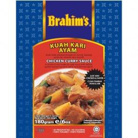 image of Brahim's Kuah Kari Ayam 180g BCS Brahim Brahims Instant Sauce Rempah Segera