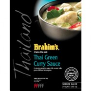 image of Brahim's Kuah Kari Hijau Thai Green Curry 300g BSS Brahim Brahims Simmer Sauces