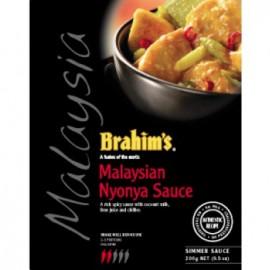 image of Brahim's Kuah Nyonya Malaysia 300g BSS Brahim Brahims Simmer Instant Sauce