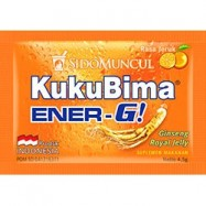 image of Kuku Bima Ener-G! Rasa Jeruk / Oren / Orange KukuBima 10box X 6sachets