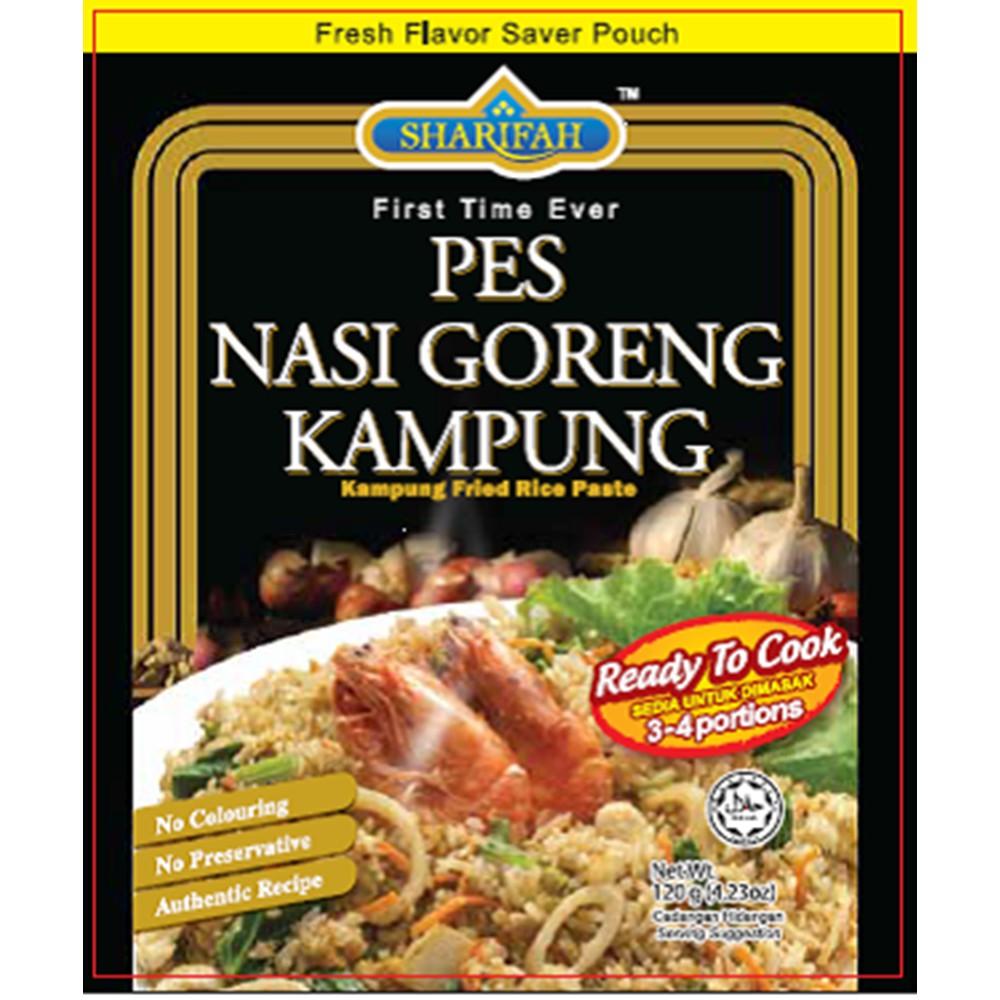 SHARIFAH Pes Nasi Goreng Kampung 120g Kampung Fried Rice Paste SHP