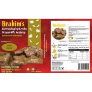 image of Brahim's Kurma Daging Lembu Dengan Ubi Kentang 180g Brahim Brahims MRTE