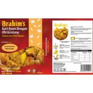 image of Brahim's Kari Ayam Dengan Ubi Kentang 180g Brahim Brahims MRTE