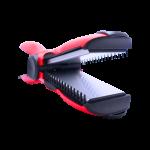Euro Hair Straightener Crimper (RED)