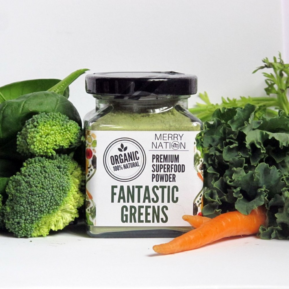 Organic Fantastic Green Powder (100 Gram)