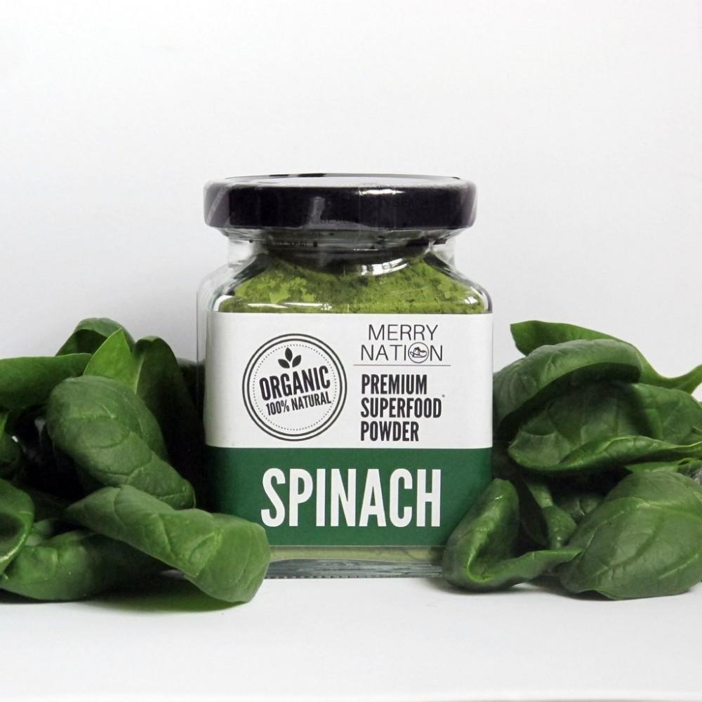 Organic Spinach Powder (100 Gram)