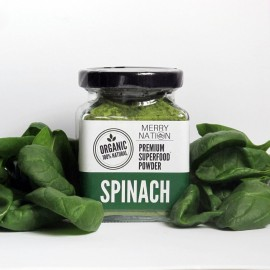 image of Organic Spinach Powder (100 Gram)