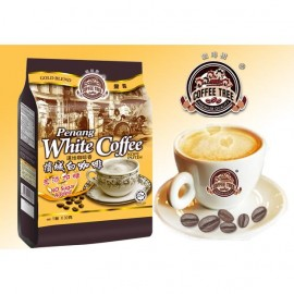 image of Coffee Tree Gold Blend 3-in-1 Penang White Coffee 15 x 30G (No Sugar Added)