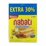 image of Nabati Wafer Cheese Extra 30% 20's X 18G