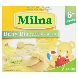 image of Milna Baby Biscuit Banana 6 Month+ 130G