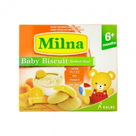 image of Milna Baby Biscuit Orange 6 Month+ 130G