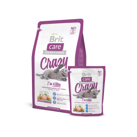 image of Brit care cat crazy i'm crazy 2KG