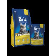 image of Brit Premium Cat Adult Salmon 1.5KG