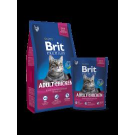 image of Brit Premium Cat Adult Chicken 1.5KG