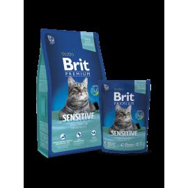image of Brit Premium Cat Sensitive 1.5kg