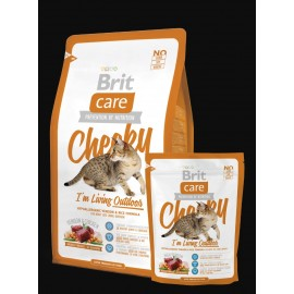 image of Brit Care Cat Cheeky I'm Living Outdoor 2kg