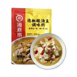 image of Magstore - 海底捞泡椒酸汤鱼调味料 210g