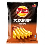 image of Magstore - Lay's 乐事大波浪薯片碳烤五花肉味