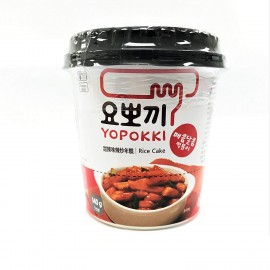 image of Magstore - Yopokki Korean  Rice Cake With Hot Sauce Cup 140g