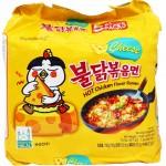 Samyang Cheese Hot Chicken Flavor Ramen 140g x (4+1)