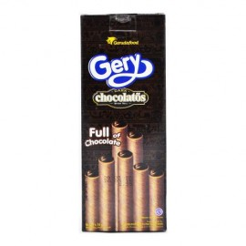 image of GERY DARK CHOCOLATE WAFER ROLL 10X16G