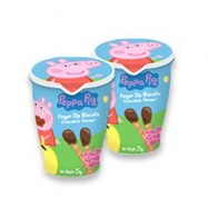 image of PEPPA PIG FINGER DIP BISCUITS CHOCOLATE FLV 25G X 1