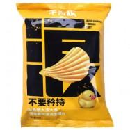 image of 单身粮咸蛋黄味波浪型薯片50G