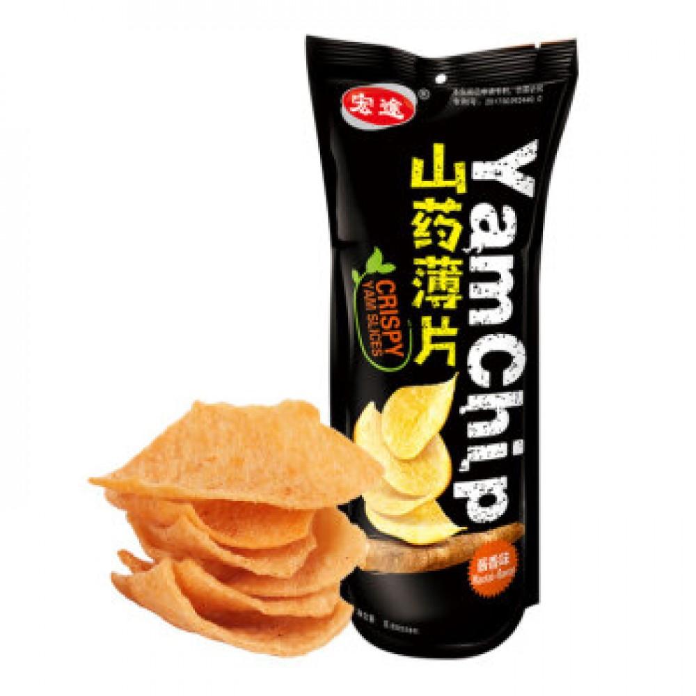 宏途山药薄片酱香味90G