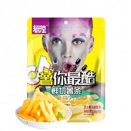 image of 抖音控薯你最酷芝士味马铃薯条16GX5包