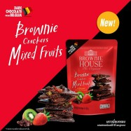 image of BROWNIE CRACKERS MIXED FRUITS 40G